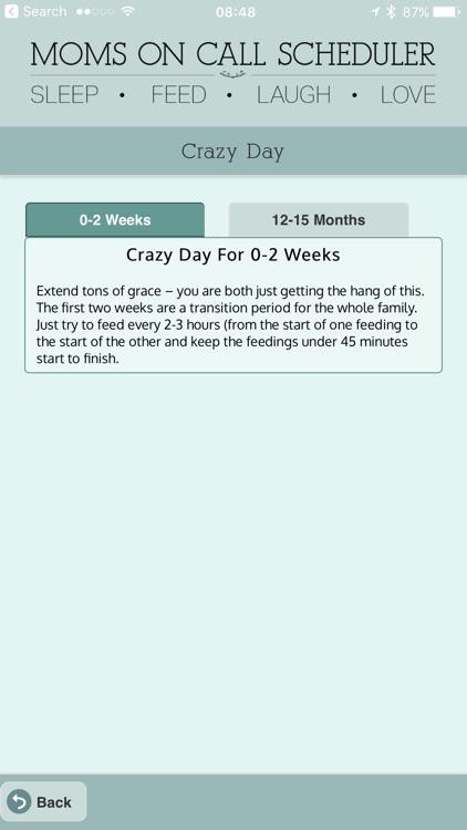 Moms On Call Scheduler screenshot-4