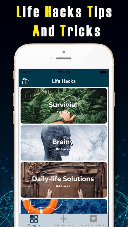 1000+ Life Hacks Tips & Tricks screenshot-4