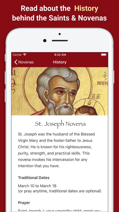 Pray Catholic Novena Prayers Screenshot