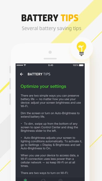 Battery Life Doctor Pro screenshot-3
