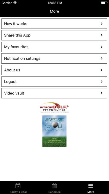 Synergistic Golf screenshot-4
