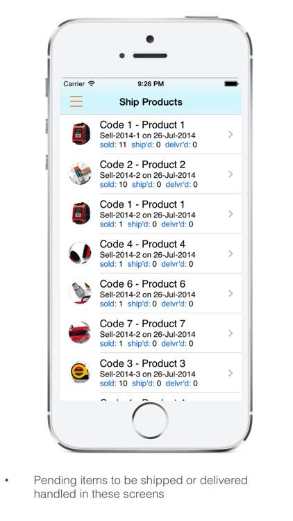 Goods Inventory for Factory screenshot-3