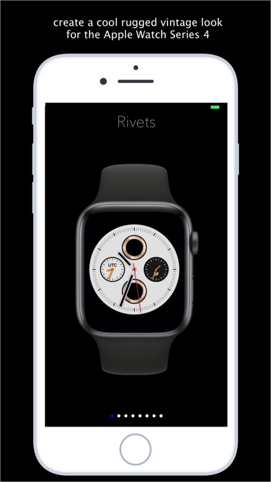 Rivets - rugged watch faces Screenshots