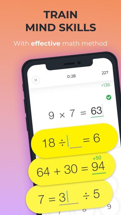 Math Brain Booster Games screenshot-0