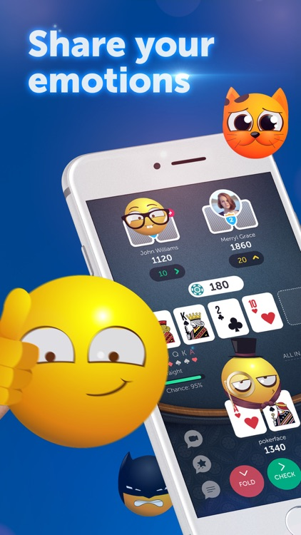 PokerUp: Texas Holdem Poker screenshot-3