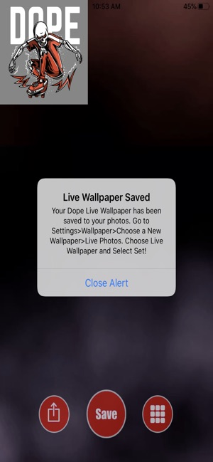 Dope Live Wallpaper On The App Store