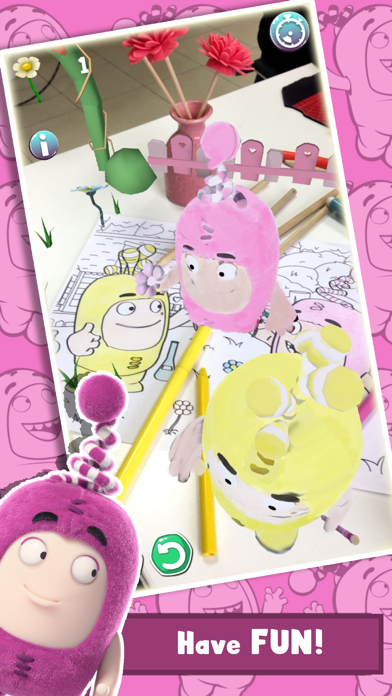 Oddbods Live Coloring (AR) screenshot three