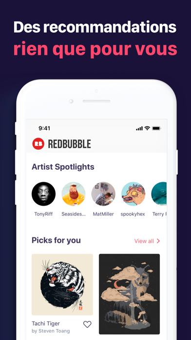Screenshot #3 pour Redbubble