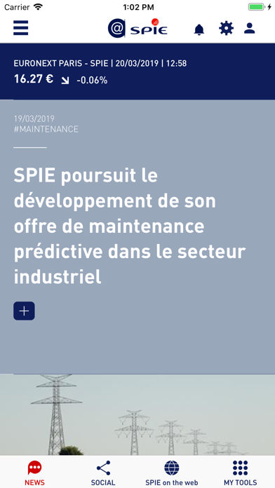 @SPIE - All the news from SPIE screenshot one