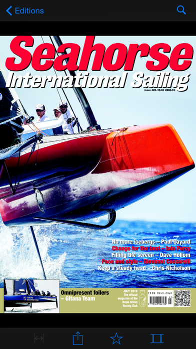 Seahorse Sailing Magazine Screenshot