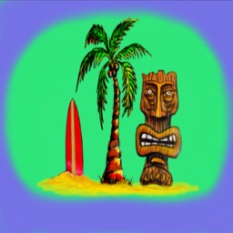 Tiki Island Stickers