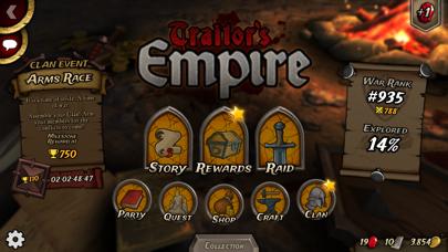 Traitors Empire Card RPG screenshot #4