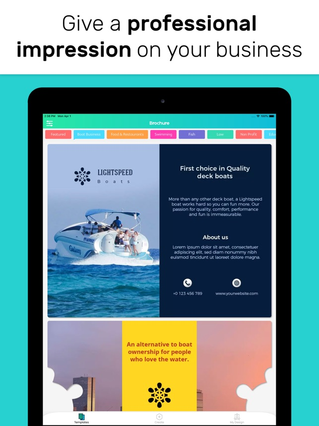 Brochure Maker - Make Posters on the App Store