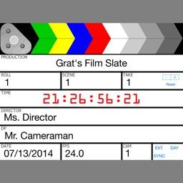 Grat's Film Slate/Clapboard