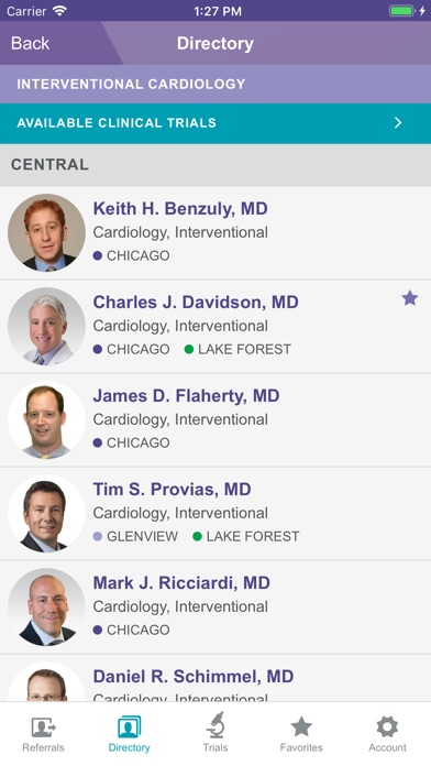 Image of NM Cardiovascular MD Referral for iPhone