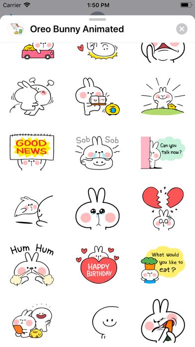 Oreo Bunny Animated screenshot 7