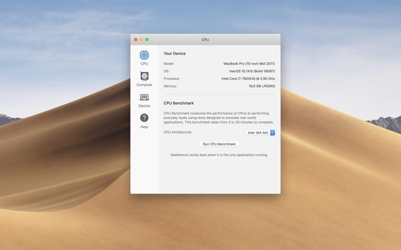 Geekbench 5 Screenshot