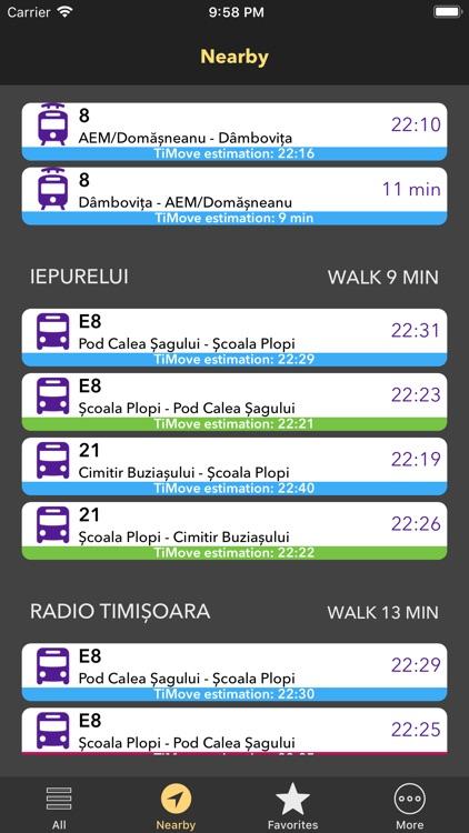 TiMove: Get around Timisoara screenshot-3