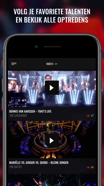 The voice of Holland app