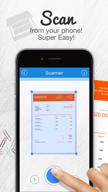Fast Scanner - work from home