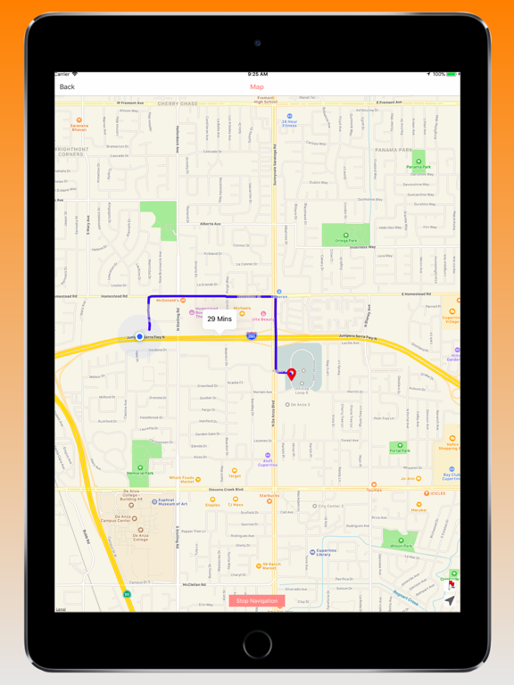 Your GPS Location Finder Pro-ipad-1