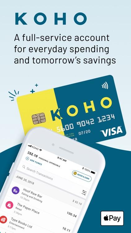 KOHO: Personal Finance screenshot-0