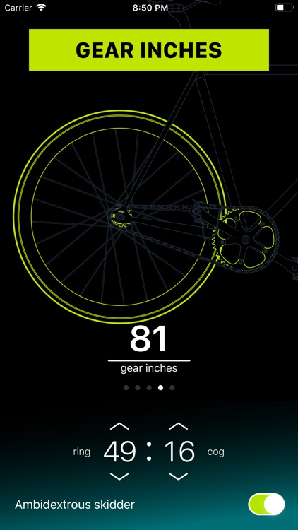 Chainring: Bicycle Gear Calc screenshot-4