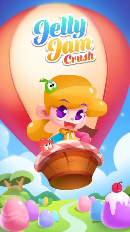 Jelly Jam Crush - Match 3 Game screenshot-4