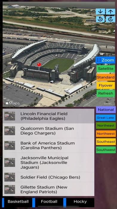 Sport Stadiums Pro - 3D Cities screenshot 7