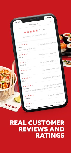 Just Eat Food Delivery On The App Store