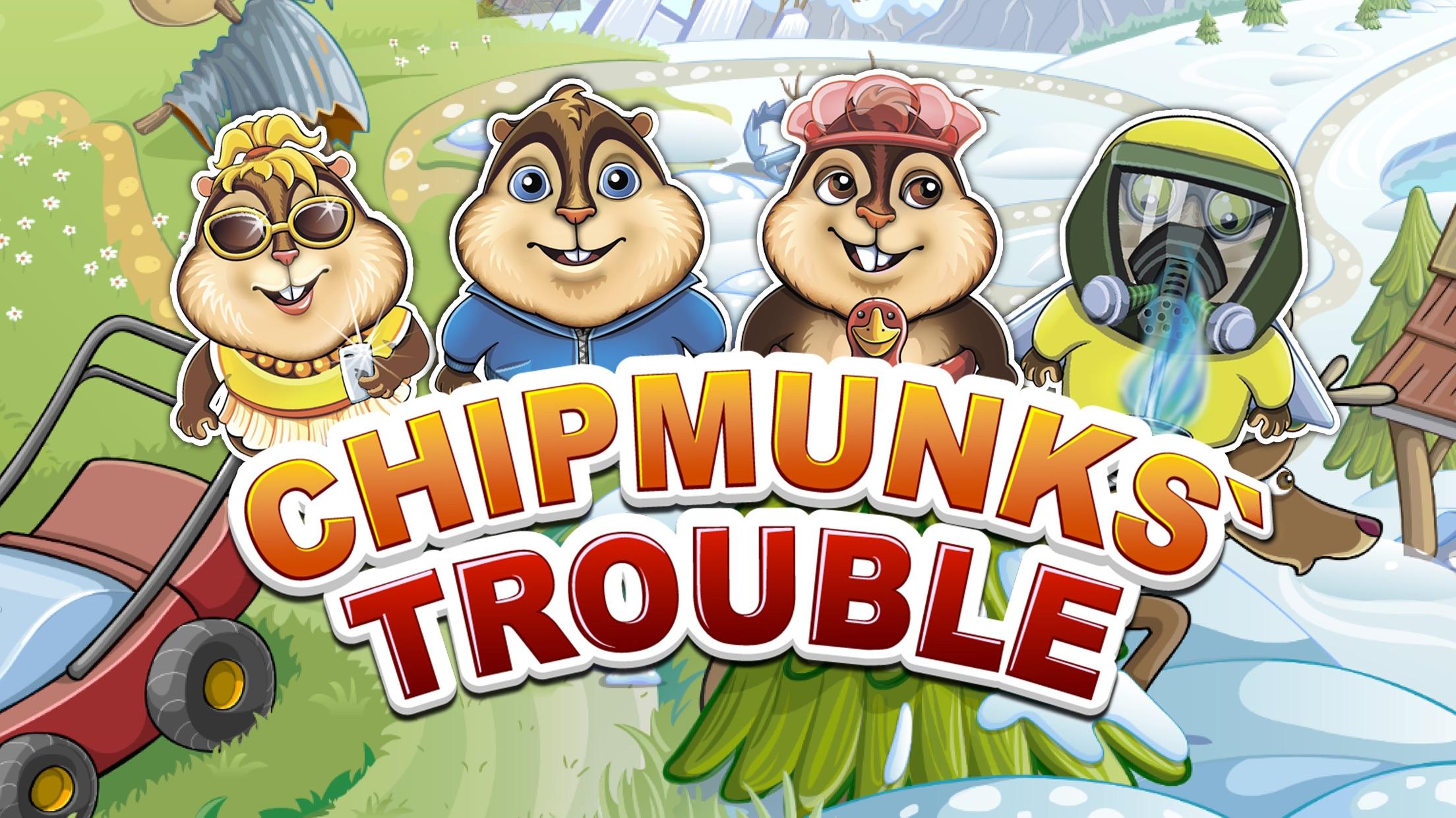 Screenshot do app Chipmunks' Trouble