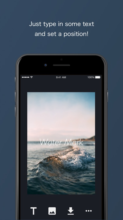 WaterMark - Add Text to Pics!