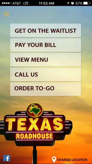 Texas Roadhouse Mobile