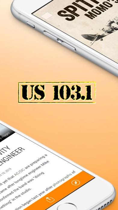 US 103.1 (WQUS) screenshot two
