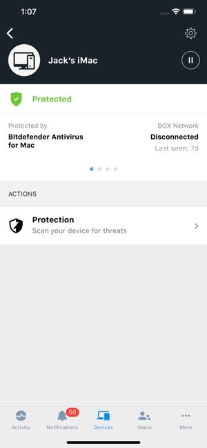 Bitdefender Central on the App Store