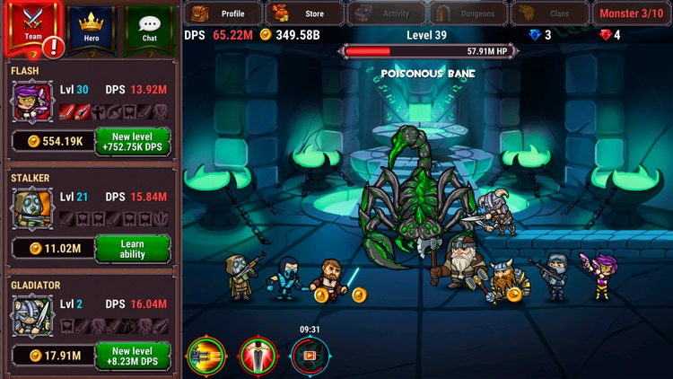 Taptic Heroes: Monsters Attack