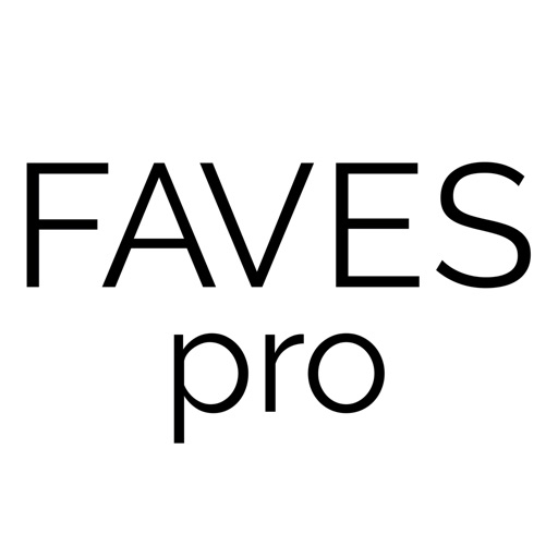 FAVES Pro – Fashion Buyer App
