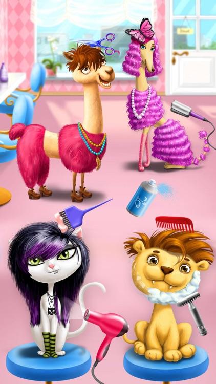 Animal Hair Salon & Dress Up screenshot-0