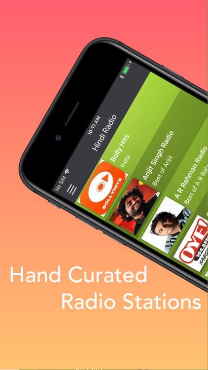 Hindi Radio - Hindi Songs HD screenshot-3