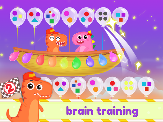 Dinosaur Kids Logic Math Game2 screenshot 6