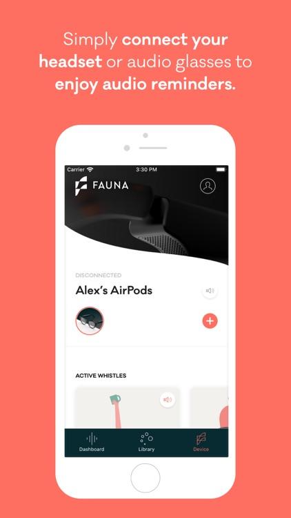Fauna: Mindful audio reminders screenshot-4