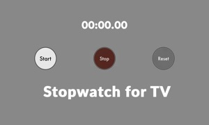 Stopwatch for TV