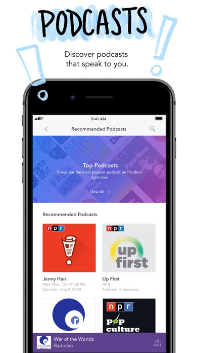 download Pandora: Music & Podcasts apps 5