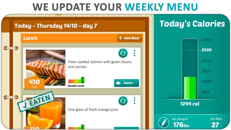 DietWiz: Weekly Meal Planner screenshot-6