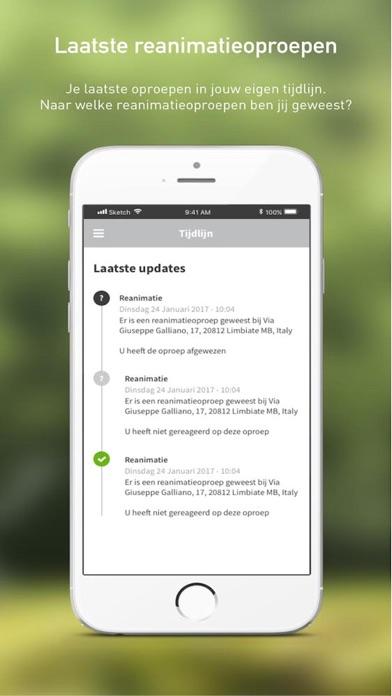 HartslagNu iPhone app afbeelding 2