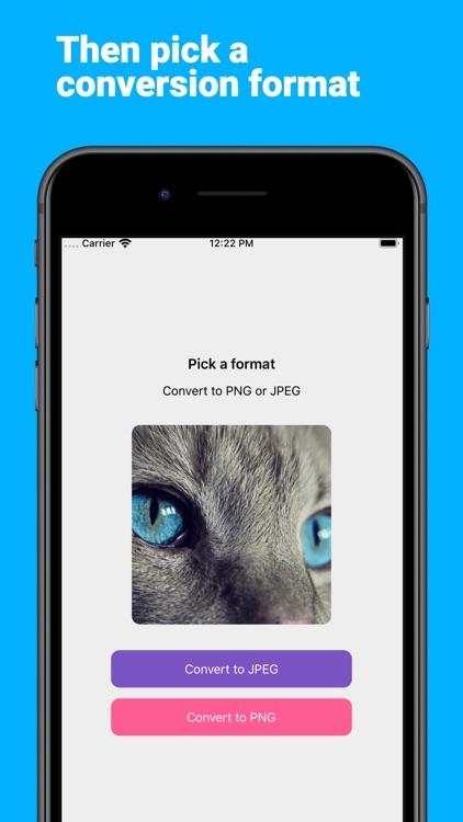 ConvertMagic: Convert JPEG/PNG
