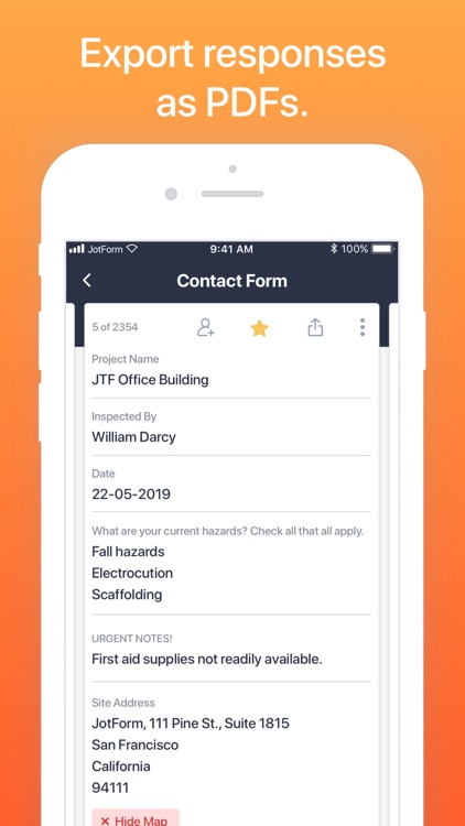 JotForm Mobile Forms screenshot-8