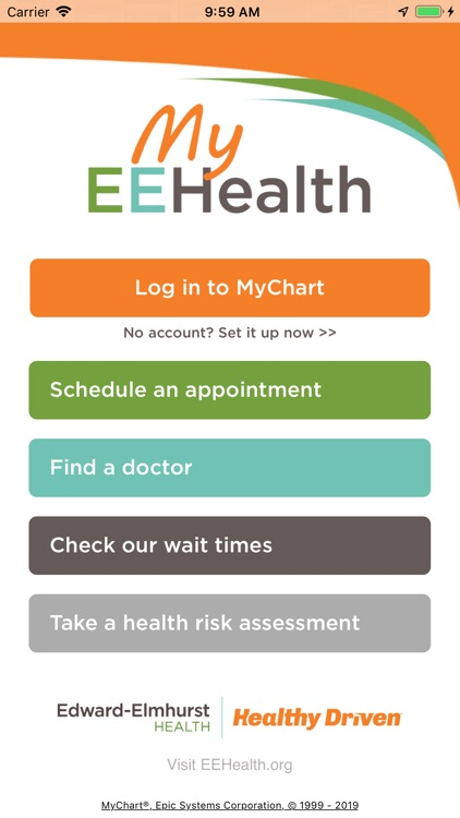 MyEEHealth screenshot-0