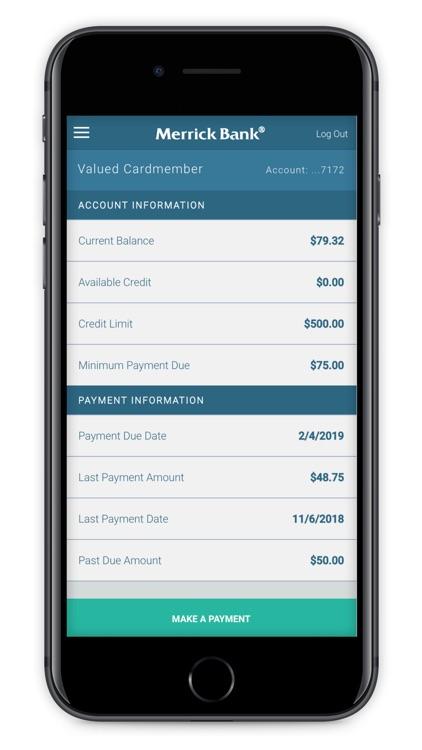 Merrick Bank Mobile