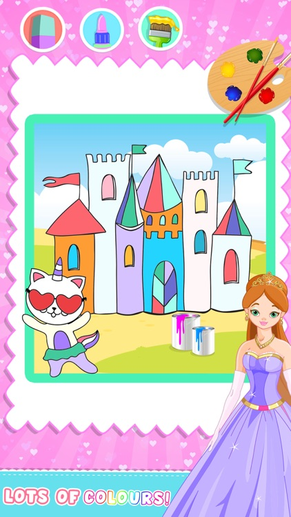 Draw Princess Color And Paint
